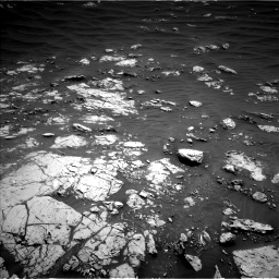 Nasa's Mars rover Curiosity acquired this image using its Left Navigation Camera on Sol 3052, at drive 702, site number 87