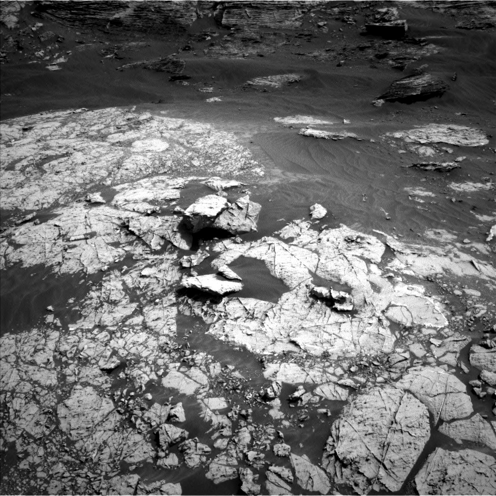 Nasa's Mars rover Curiosity acquired this image using its Left Navigation Camera on Sol 3052, at drive 708, site number 87