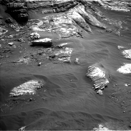Nasa's Mars rover Curiosity acquired this image using its Left Navigation Camera on Sol 3052, at drive 786, site number 87