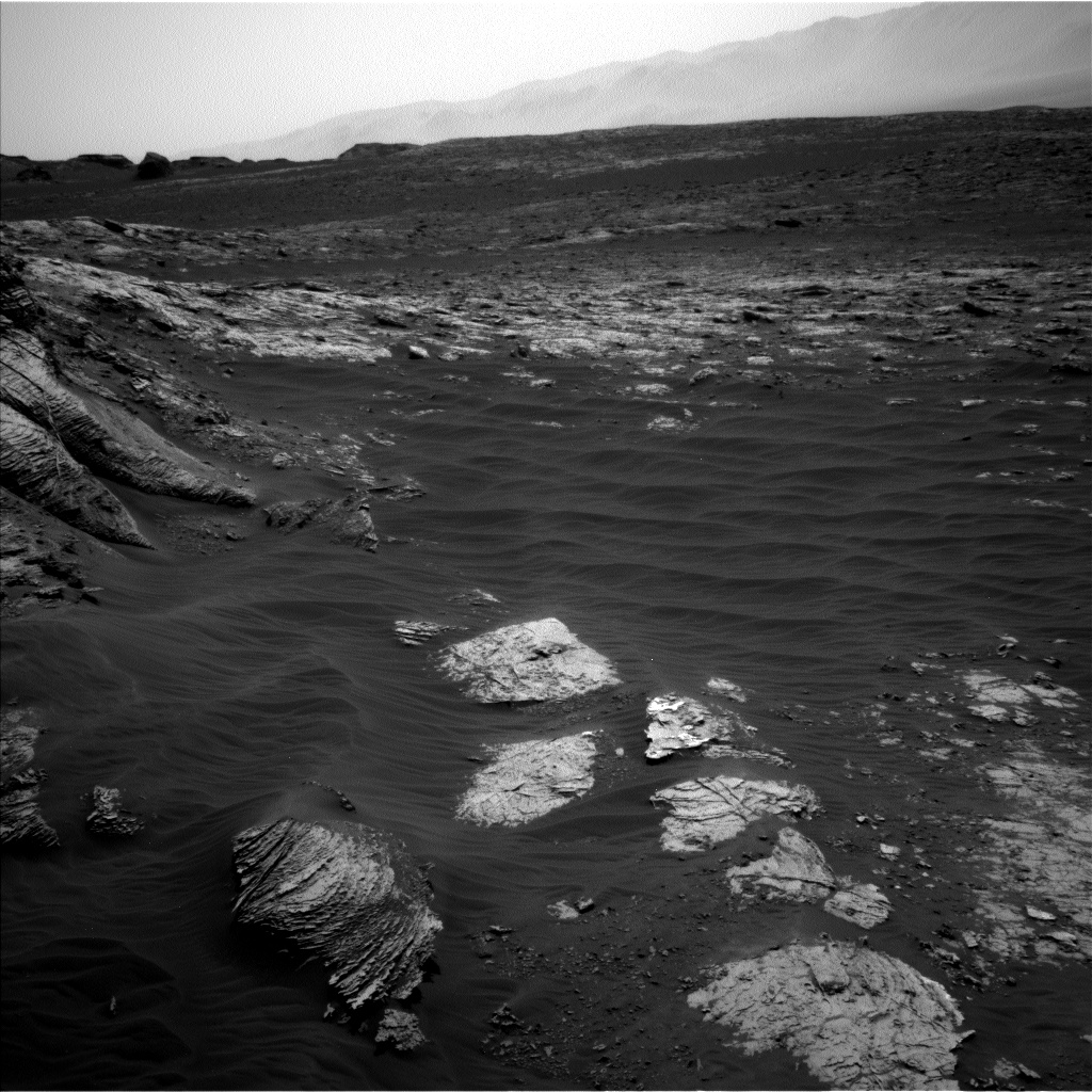 Nasa's Mars rover Curiosity acquired this image using its Left Navigation Camera on Sol 3052, at drive 792, site number 87