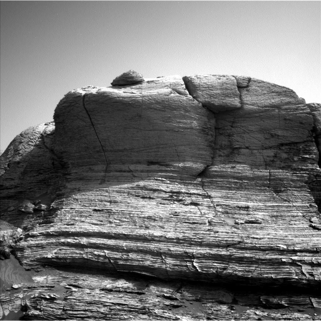 This image was taken by Left Navigation Camera onboard NASA's Mars rover Curiosity on Sol 3052.