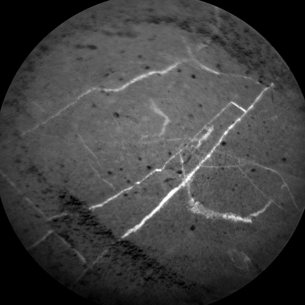 Nasa's Mars rover Curiosity acquired this image using its Chemistry & Camera (ChemCam) on Sol 3052, at drive 696, site number 87