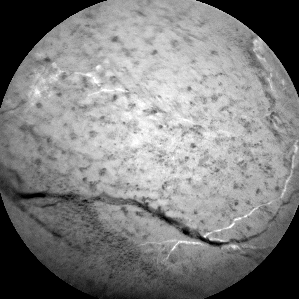 Nasa's Mars rover Curiosity acquired this image using its Chemistry & Camera (ChemCam) on Sol 3055, at drive 792, site number 87