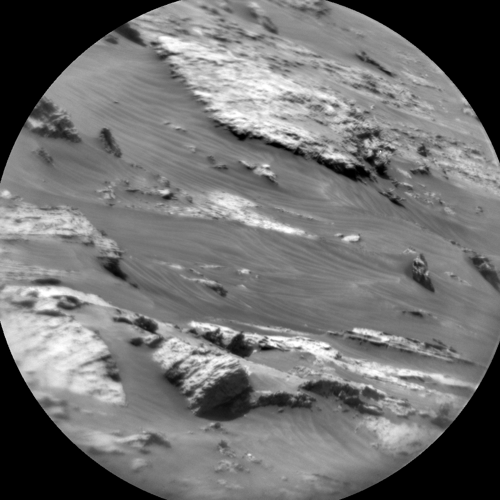 Nasa's Mars rover Curiosity acquired this image using its Chemistry & Camera (ChemCam) on Sol 3058, at drive 792, site number 87