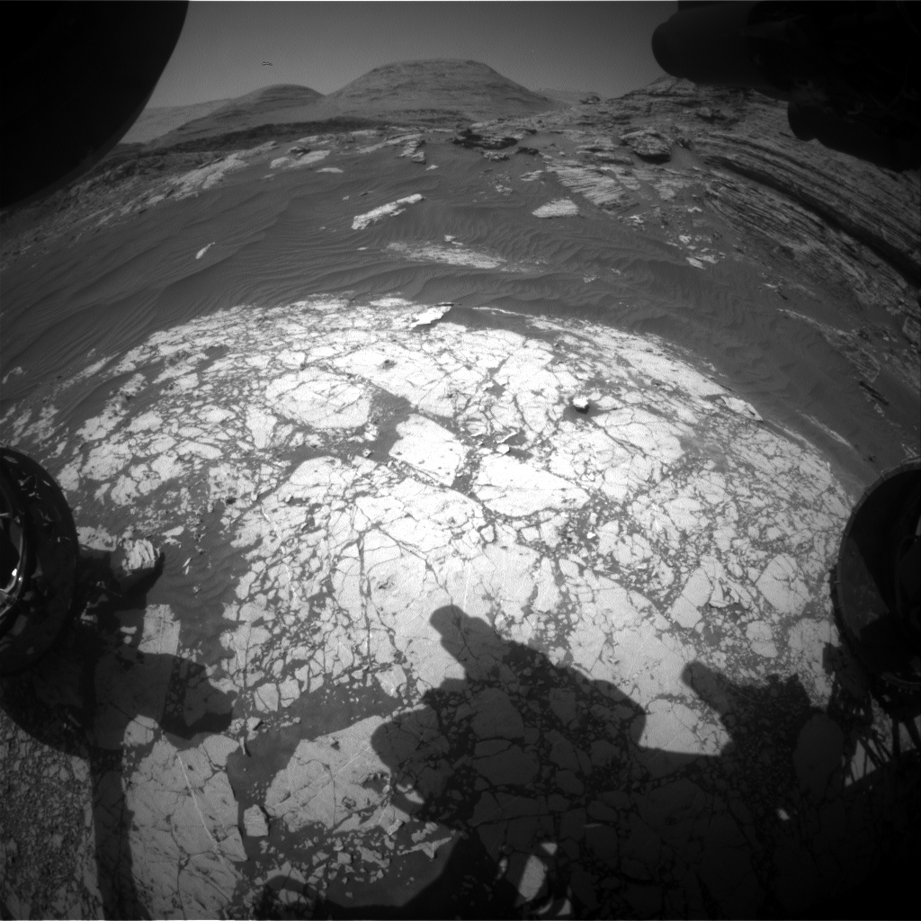 Nasa's Mars rover Curiosity acquired this image using its Front Hazard Avoidance Camera (Front Hazcam) on Sol 3064, at drive 792, site number 87