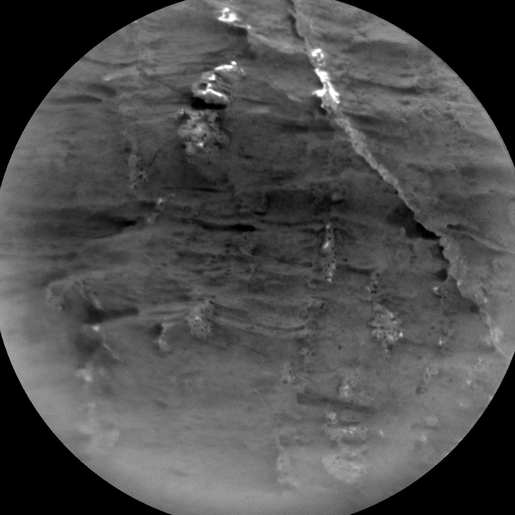 Nasa's Mars rover Curiosity acquired this image using its Chemistry & Camera (ChemCam) on Sol 3067, at drive 792, site number 87