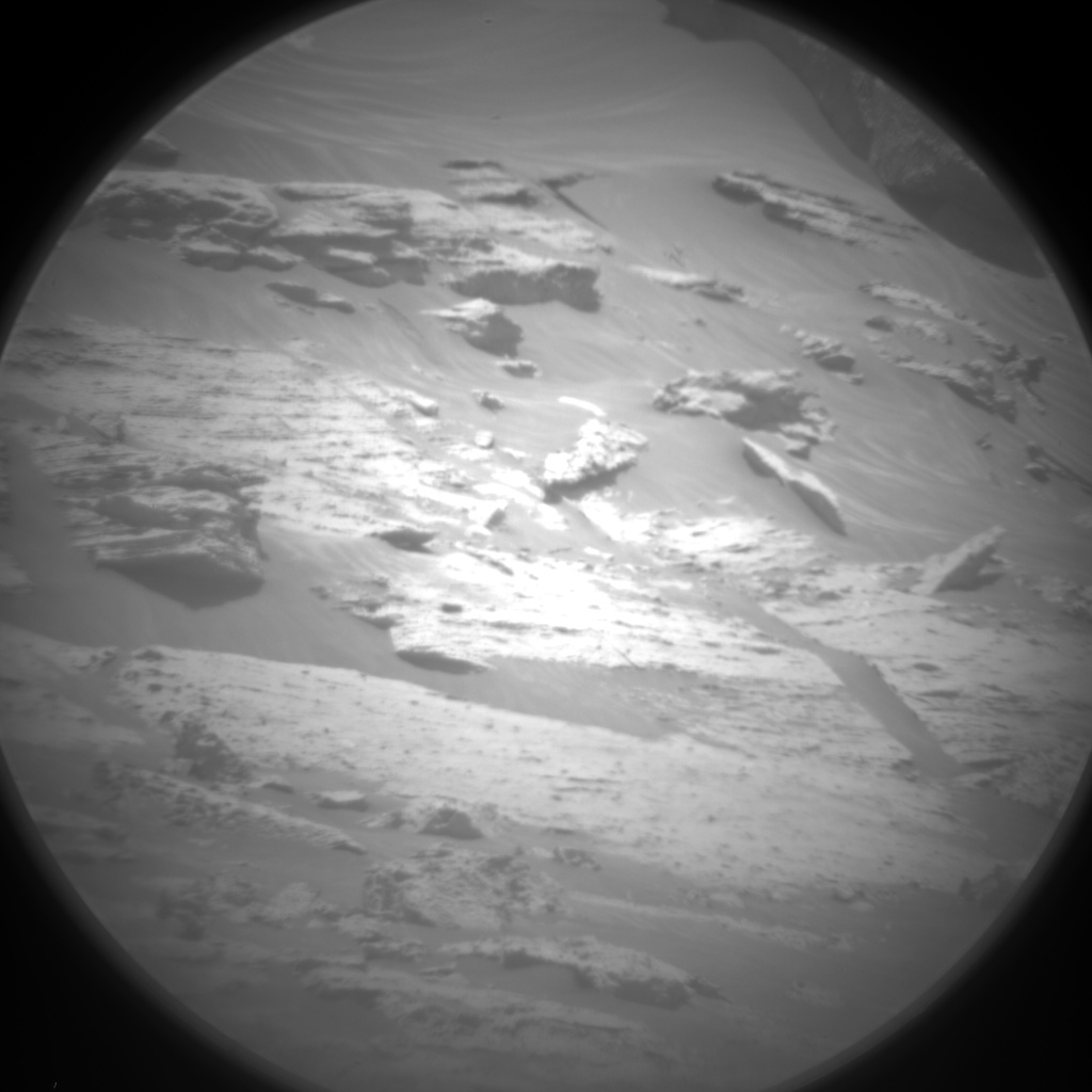 Nasa's Mars rover Curiosity acquired this image using its Chemistry & Camera (ChemCam) on Sol 3068, at drive 792, site number 87