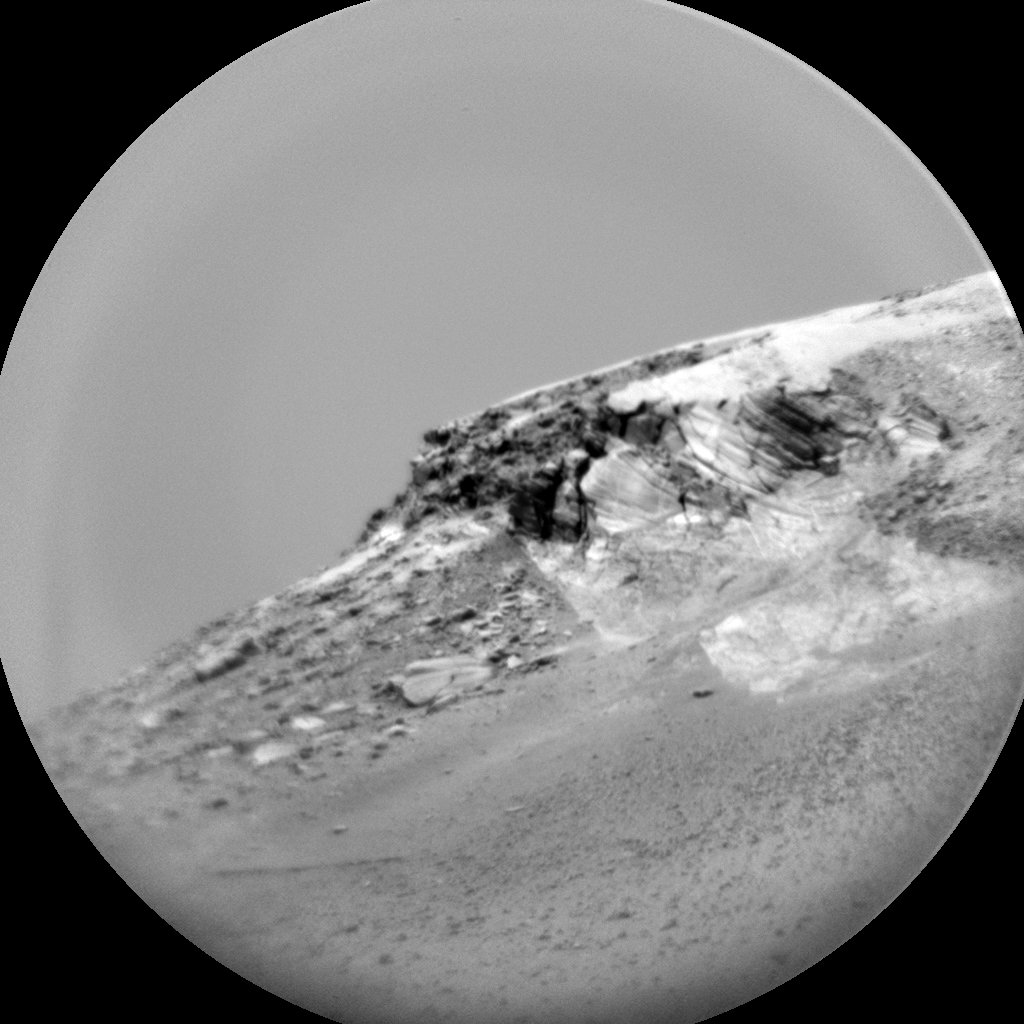 Nasa's Mars rover Curiosity acquired this image using its Chemistry & Camera (ChemCam) on Sol 3069, at drive 792, site number 87