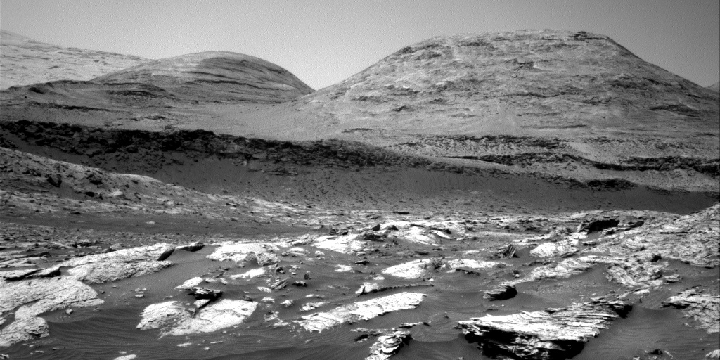 Nasa's Mars rover Curiosity acquired this image using its Right Navigation Camera on Sol 3071, at drive 792, site number 87