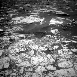 Nasa's Mars rover Curiosity acquired this image using its Left Navigation Camera on Sol 3072, at drive 828, site number 87