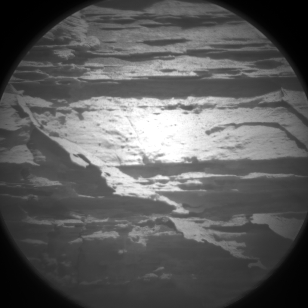 Nasa's Mars rover Curiosity acquired this image using its Chemistry & Camera (ChemCam) on Sol 3074, at drive 834, site number 87