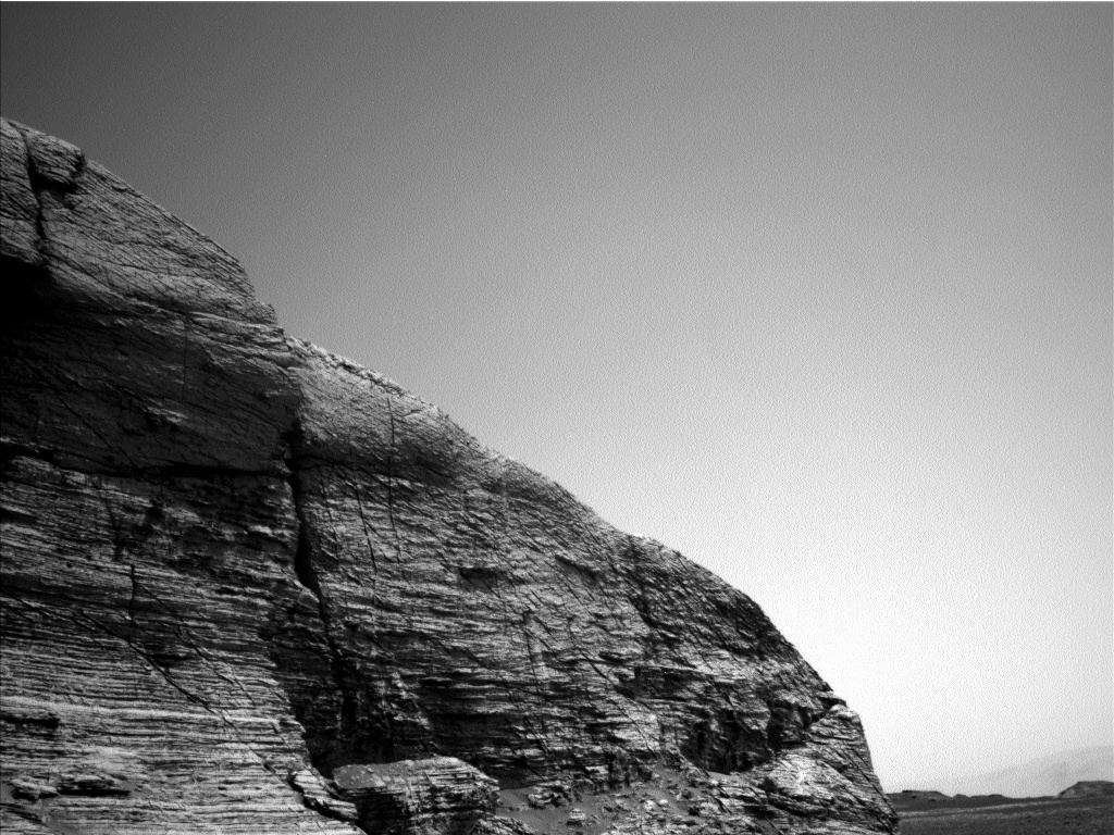 Nasa's Mars rover Curiosity acquired this image using its Left Navigation Camera on Sol 3074, at drive 834, site number 87