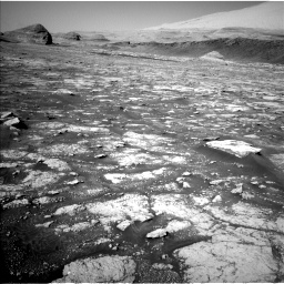 Nasa's Mars rover Curiosity acquired this image using its Left Navigation Camera on Sol 3074, at drive 978, site number 87