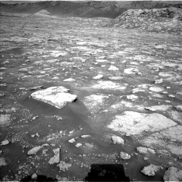 Nasa's Mars rover Curiosity acquired this image using its Left Navigation Camera on Sol 3074, at drive 1002, site number 87