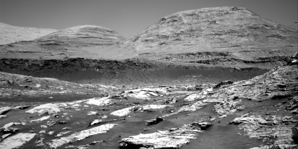 Nasa's Mars rover Curiosity acquired this image using its Right Navigation Camera on Sol 3074, at drive 834, site number 87