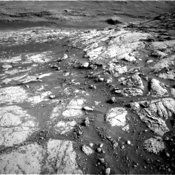Nasa's Mars rover Curiosity acquired this image using its Right Navigation Camera on Sol 3074, at drive 1050, site number 87