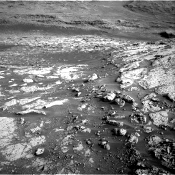 Nasa's Mars rover Curiosity acquired this image using its Right Navigation Camera on Sol 3074, at drive 1074, site number 87