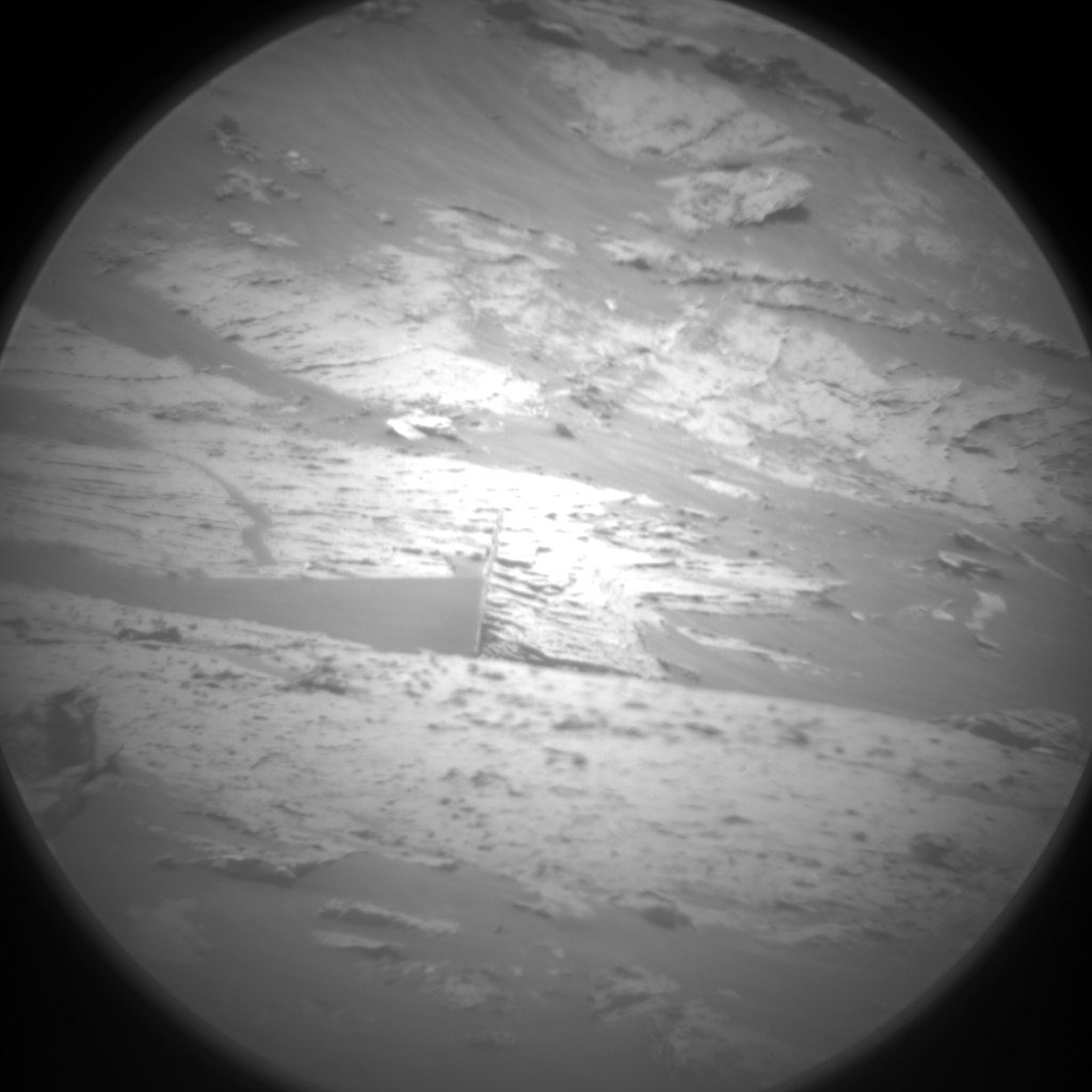 Nasa's Mars rover Curiosity acquired this image using its Chemistry & Camera (ChemCam) on Sol 3076, at drive 1078, site number 87