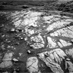 Nasa's Mars rover Curiosity acquired this image using its Left Navigation Camera on Sol 3076, at drive 1090, site number 87