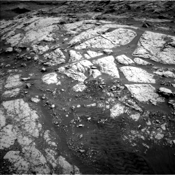 Nasa's Mars rover Curiosity acquired this image using its Left Navigation Camera on Sol 3076, at drive 1108, site number 87