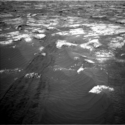 Nasa's Mars rover Curiosity acquired this image using its Left Navigation Camera on Sol 3076, at drive 1228, site number 87