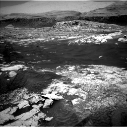 Nasa's Mars rover Curiosity acquired this image using its Left Navigation Camera on Sol 3076, at drive 1336, site number 87