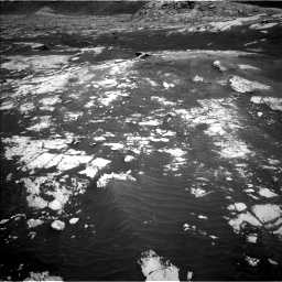 Nasa's Mars rover Curiosity acquired this image using its Left Navigation Camera on Sol 3076, at drive 1372, site number 87