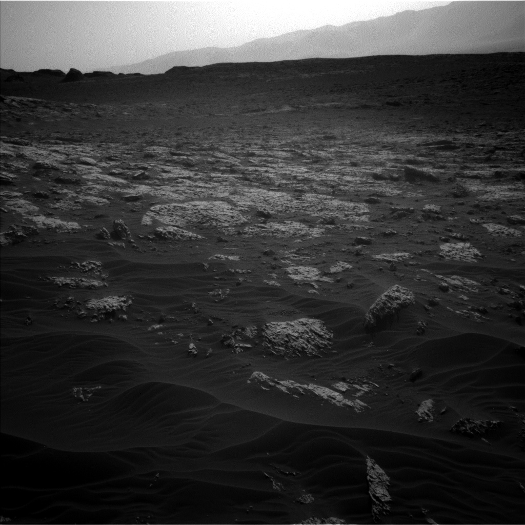 Nasa's Mars rover Curiosity acquired this image using its Left Navigation Camera on Sol 3076, at drive 1444, site number 87