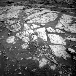Nasa's Mars rover Curiosity acquired this image using its Right Navigation Camera on Sol 3076, at drive 1102, site number 87