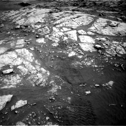 Nasa's Mars rover Curiosity acquired this image using its Right Navigation Camera on Sol 3076, at drive 1120, site number 87