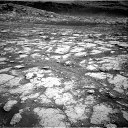 Nasa's Mars rover Curiosity acquired this image using its Right Navigation Camera on Sol 3076, at drive 1150, site number 87