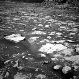 Nasa's Mars rover Curiosity acquired this image using its Right Navigation Camera on Sol 3076, at drive 1162, site number 87