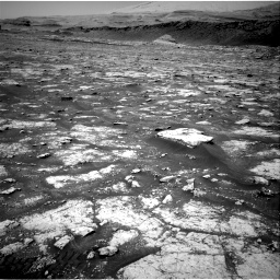 Nasa's Mars rover Curiosity acquired this image using its Right Navigation Camera on Sol 3076, at drive 1186, site number 87