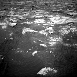 Nasa's Mars rover Curiosity acquired this image using its Right Navigation Camera on Sol 3076, at drive 1222, site number 87