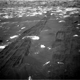 Nasa's Mars rover Curiosity acquired this image using its Right Navigation Camera on Sol 3076, at drive 1270, site number 87