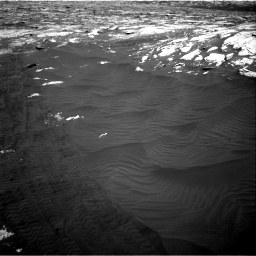 Nasa's Mars rover Curiosity acquired this image using its Right Navigation Camera on Sol 3076, at drive 1300, site number 87