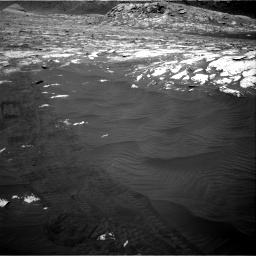 Nasa's Mars rover Curiosity acquired this image using its Right Navigation Camera on Sol 3076, at drive 1306, site number 87