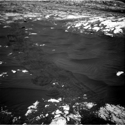 Nasa's Mars rover Curiosity acquired this image using its Right Navigation Camera on Sol 3076, at drive 1312, site number 87