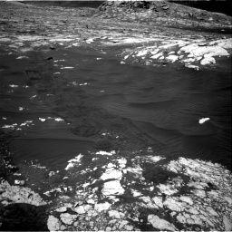 Nasa's Mars rover Curiosity acquired this image using its Right Navigation Camera on Sol 3076, at drive 1318, site number 87