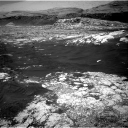 Nasa's Mars rover Curiosity acquired this image using its Right Navigation Camera on Sol 3076, at drive 1330, site number 87