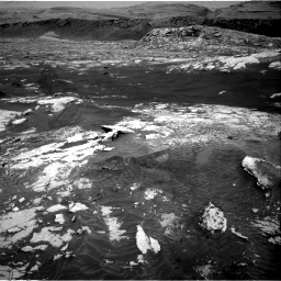 Nasa's Mars rover Curiosity acquired this image using its Right Navigation Camera on Sol 3076, at drive 1348, site number 87