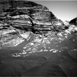 Nasa's Mars rover Curiosity acquired this image using its Right Navigation Camera on Sol 3076, at drive 1390, site number 87
