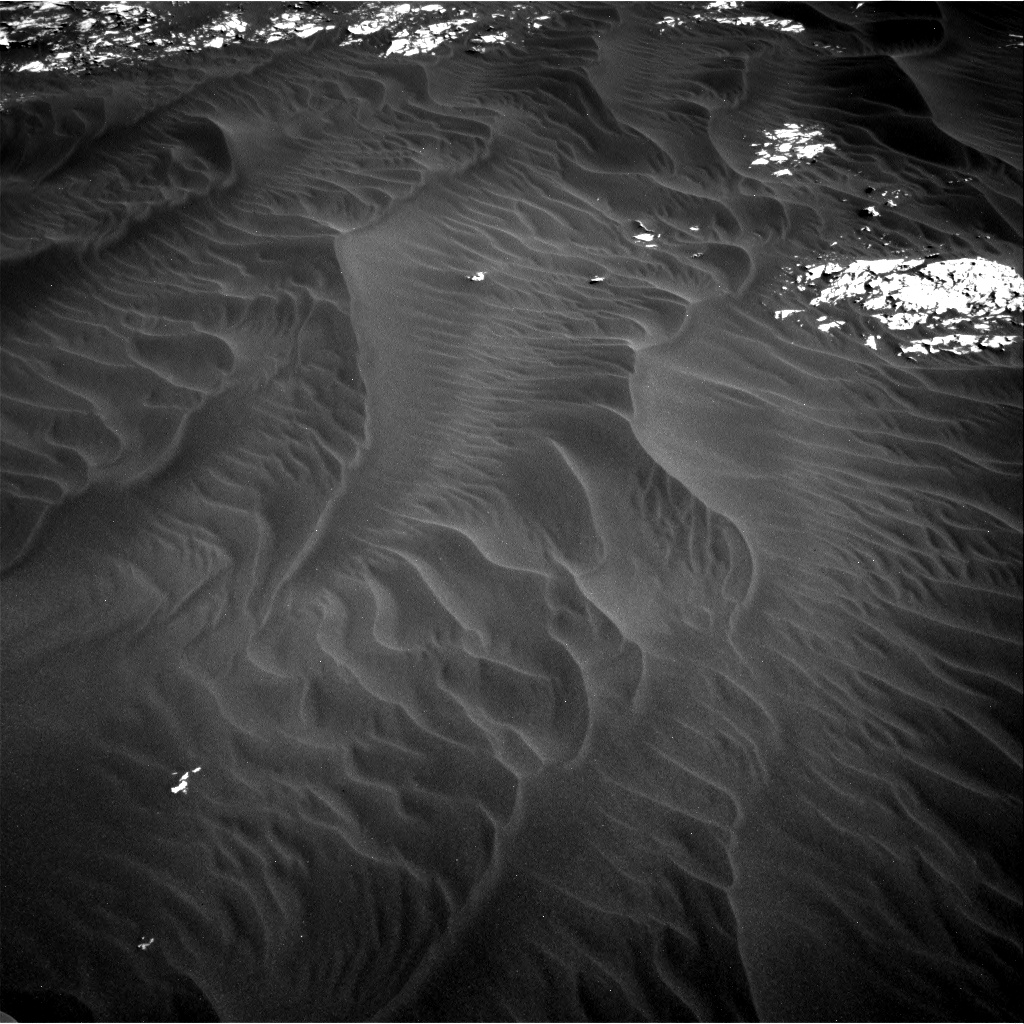 Nasa's Mars rover Curiosity acquired this image using its Right Navigation Camera on Sol 3076, at drive 1402, site number 87