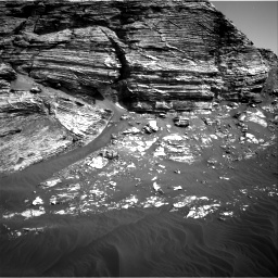 Nasa's Mars rover Curiosity acquired this image using its Right Navigation Camera on Sol 3076, at drive 1420, site number 87