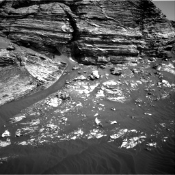Nasa's Mars rover Curiosity acquired this image using its Right Navigation Camera on Sol 3076, at drive 1432, site number 87
