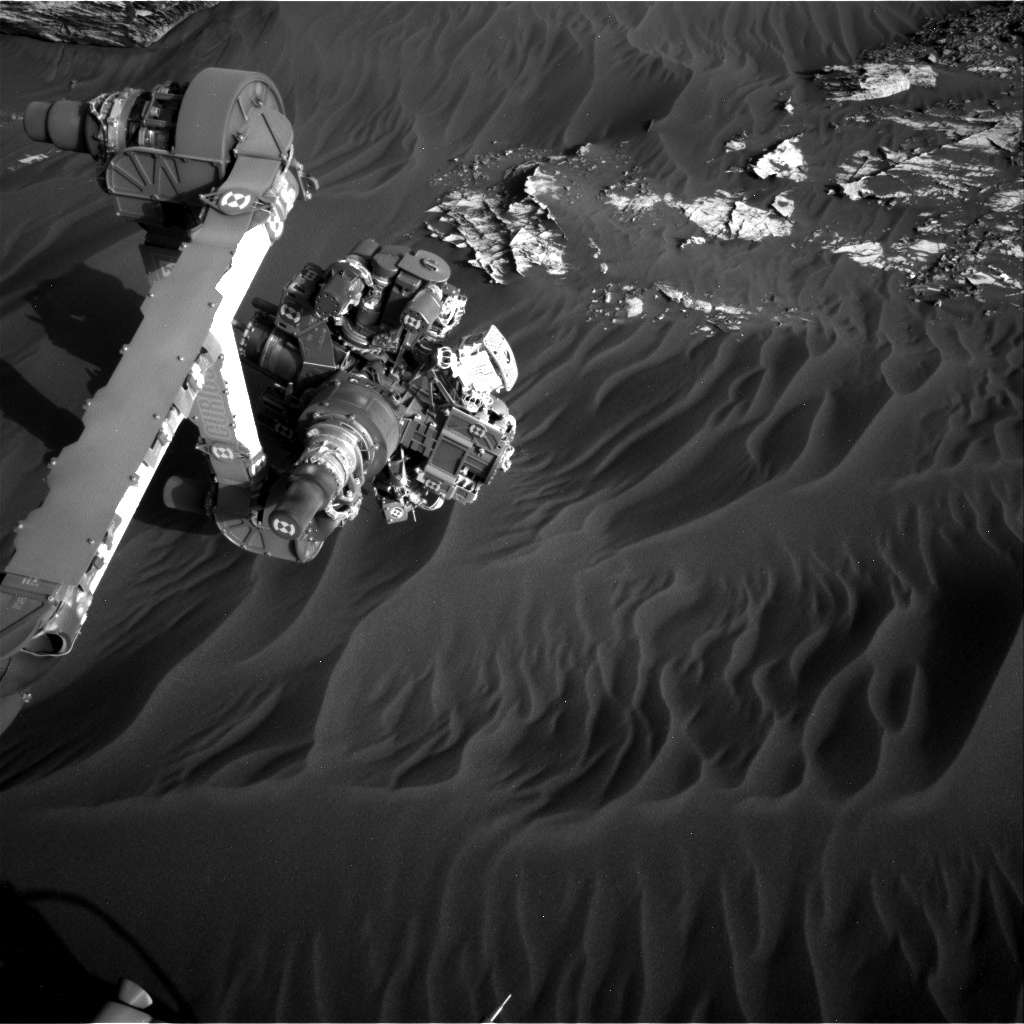 Nasa's Mars rover Curiosity acquired this image using its Right Navigation Camera on Sol 3078, at drive 1444, site number 87