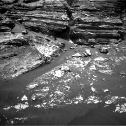 Nasa's Mars rover Curiosity acquired this image using its Left Navigation Camera on Sol 3079, at drive 1444, site number 87