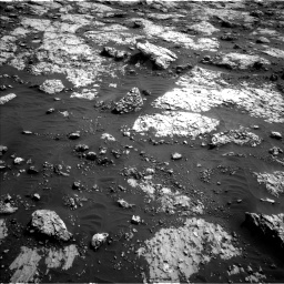 Nasa's Mars rover Curiosity acquired this image using its Left Navigation Camera on Sol 3079, at drive 1546, site number 87