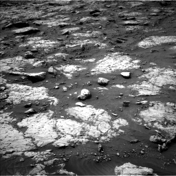 Nasa's Mars rover Curiosity acquired this image using its Left Navigation Camera on Sol 3079, at drive 1594, site number 87