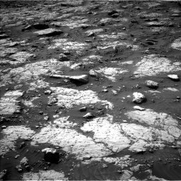 Nasa's Mars rover Curiosity acquired this image using its Left Navigation Camera on Sol 3079, at drive 1600, site number 87